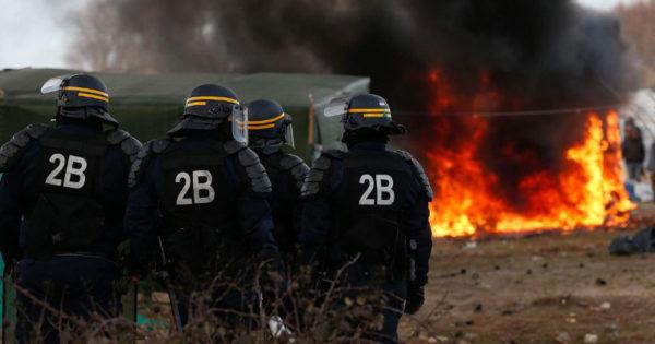 Licht en duisternis in Calais